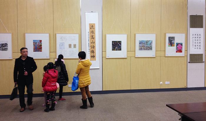 金色童年 放飞梦想 童心 看世界 徐董钦个人绘画作品展报道图片